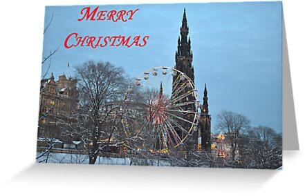Christmas Card from Edinburgh by Dorothy Thomson