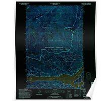 USGS Topo Map Washington State WA Rimrock Lake 243462 1992 24000 Inverted Poster
