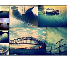 Water Collage Photographic Print