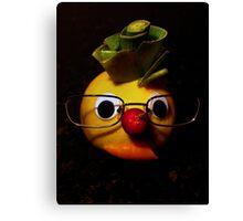 Laughter + fruit + vegetables = health Canvas Print