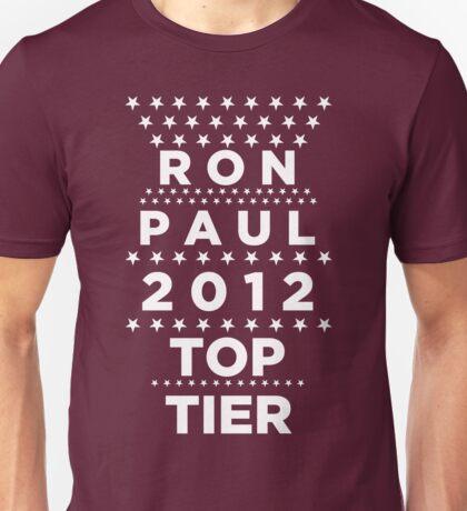 Ron Paul 2012 - Top Tier  Unisex T-Shirt
