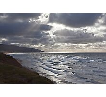 Storm Light Inverness Beach NS Photographic Print