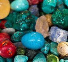 polished semi precious gem stones by PhotoStock-Isra