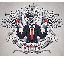 King Vicious Photographic Print