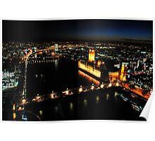 London at night Poster