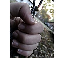 Autumn's grip Photographic Print