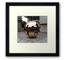 Sphere within a sphere Framed Print