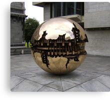 Sphere within a sphere Canvas Print