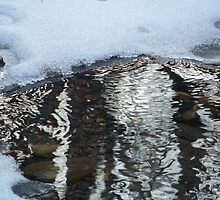 Icy Stream by James Brotherton