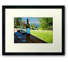 ArrowLeaf Winery Framed Print