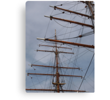 Discovery Masts Canvas Print