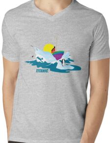 Titanic. Mens V-Neck T-Shirt