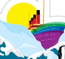 Titanic. Sticker