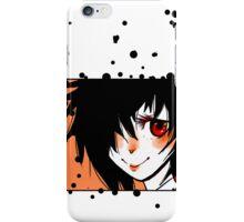 Cute anime red eyes iPhone Case/Skin