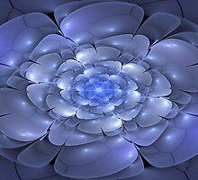 3D Blossoms - Sapphire by sstarlightss