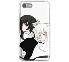 Cute anime couple  iPhone Case/Skin