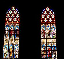 Stained glass windows  by PhotoStock-Isra