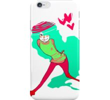 Teal hearts iPhone Case/Skin