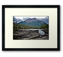 Athabaska Falls, Alberta Framed Print