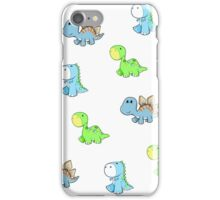dinosaur babies iPhone Case/Skin