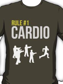 Zombie Survival Guide - Rule #1 Cardio T-Shirt