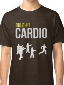Zombie Survival Guide - Rule #1 Cardio Classic T-Shirt