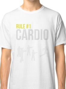 Zombie Survival Guide - Rule #1 Cardio Classic T-Shirt