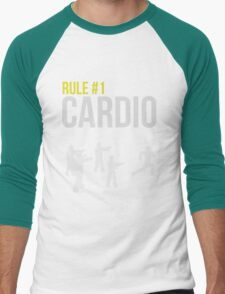 Zombie Survival Guide - Rule #1 Cardio Men's Baseball ¾ T-Shirt