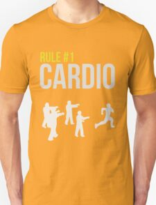 Zombie Survival Guide - Rule #1 Cardio T-Shirt