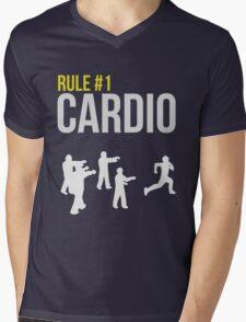 Zombie Survival Guide - Rule #1 Cardio Mens V-Neck T-Shirt