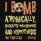 I Grew Up On Hip-Hop: I Bomb T-Shirt by keepitclassic