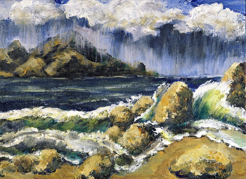 Storm Over Ben Weston Pt. by Randy Sprout