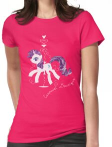 Rarity's Carousel Boutique Womens Fitted T-Shirt