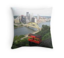 The incline Throw Pillow
