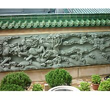 Magestic Fearsome Dragon Mural Photographic Print