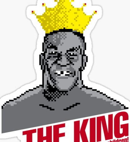 The King Will Not Eat Your Children Sticker