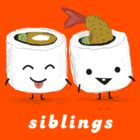Sushi Siblings by Jenn Inashvili