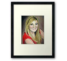 Jenna Framed Print