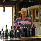 Paramoor Winery wine-maker, Will Fraser. by John Mitchell