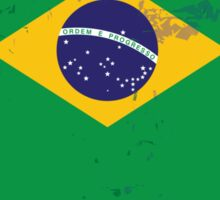 Flag of Brazil Sticker