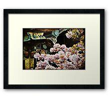 Ornate Blossoms Framed Print