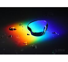 Rainbolic - Experimental Prism Photograph #29 Photographic Print