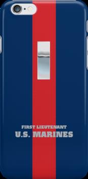 USMC O2 1stLt Blood Stripe by Sinubis