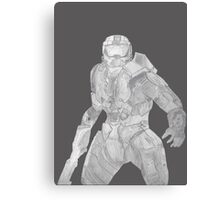 Master Chief Not Color Canvas Print