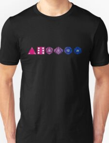 Bisexuality Pride (Polyhedral Edition) Unisex T-Shirt