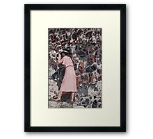 Lady's Viewpoint Framed Print