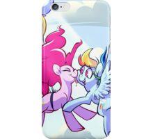 PinkieDash w/ Background iPhone Case/Skin