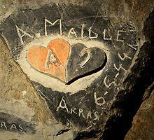 ww2 grafitti hearts underground by 64stops