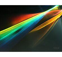 Rainbolic - Experimental Prism Photograph #48 Photographic Print