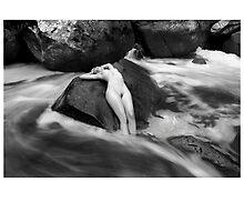 2012 Waterscape Nudes Calendar - September by Scott Foltz